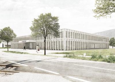 Neubau Hauptsitz Schaffner Group, Luterbach