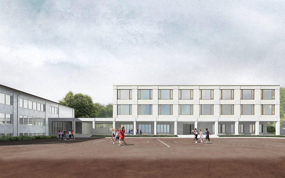 Wettbewerb Neubau Schulhaus, Courrendlin