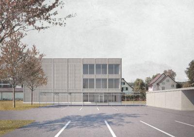 Wettbewerb Neubau Sporthallen, Frauenfeld