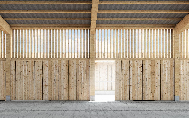 Wettbewerb Neubau Wallierhof, Riedholz