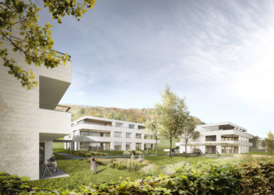 Neubau Wohnbausiedlung, Attiswil