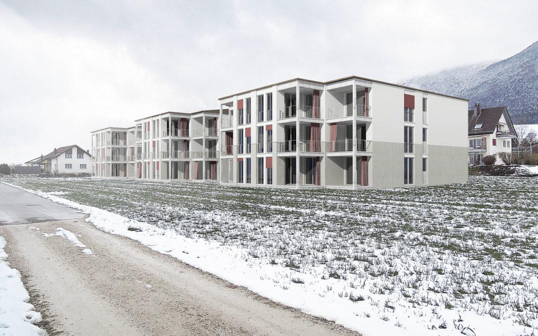 Neubau Wohnsiedlung, Lommiswil