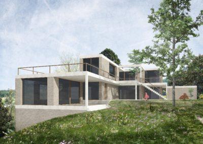 Neubau Zweifamilienhaus, Ennetbaden
