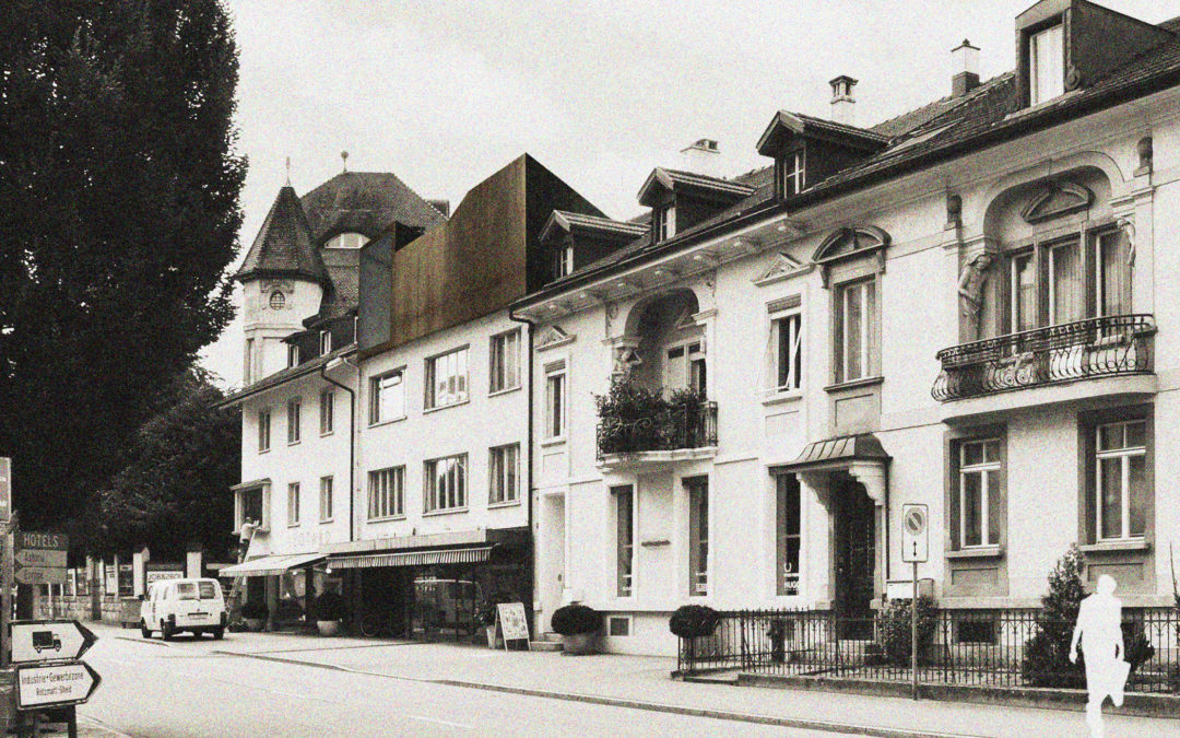 Studie Dachaufstockung, Olten