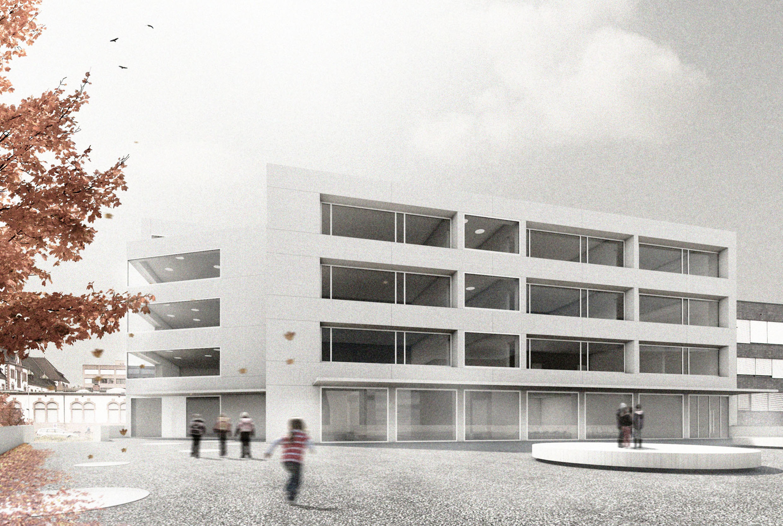 Wettbewerb Neubau Primarschule Erlenmatt, Basel